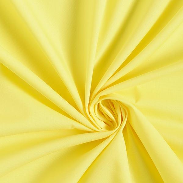 Popeline Stoff Uni – gelb