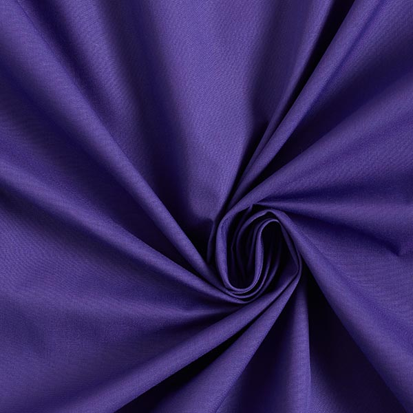 Popeline Uni – lilas bleu