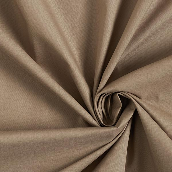 Popeline Uni – marron clair