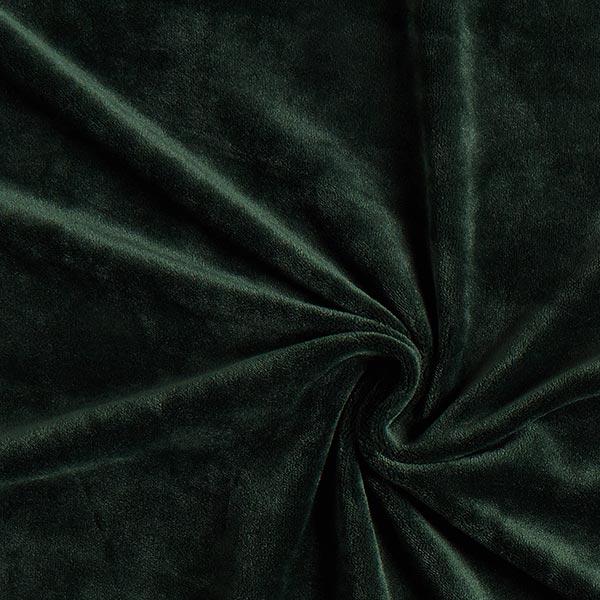 Velours stretch Tissu Nicki – vert foncé