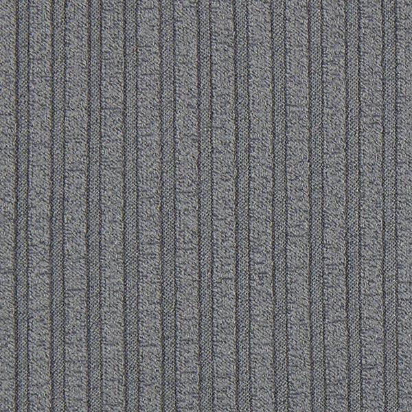 Strickstoff Feinstrick Rippe – grau