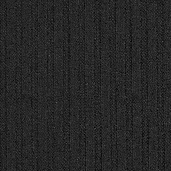 Tricot fin côtelé 8 – noir