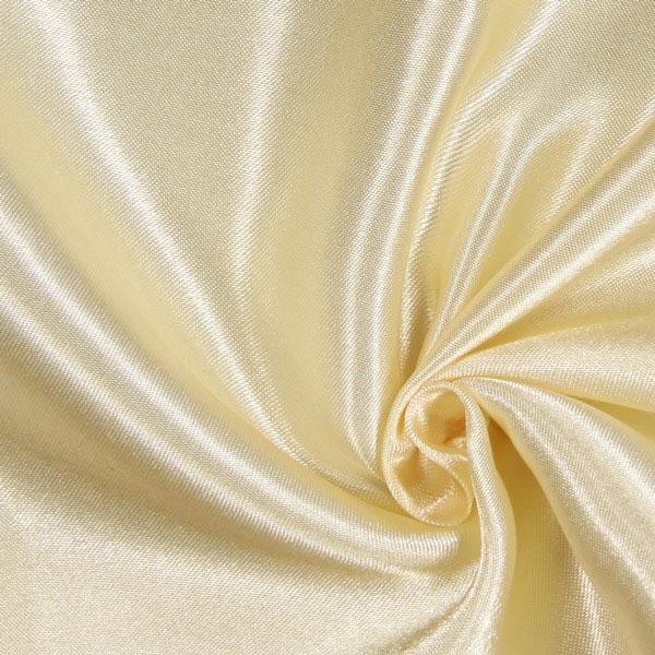 Satin polyester – crème
