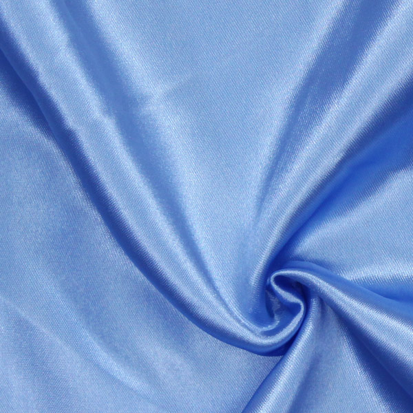 Satin mariée  – bleu acier