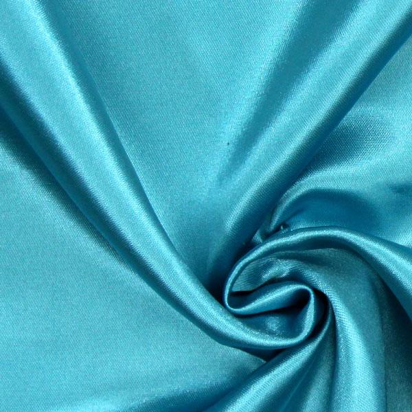 Satin mariée  – turquoise