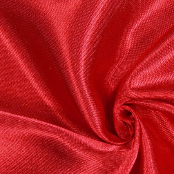 Satin mariée  – rouge vif