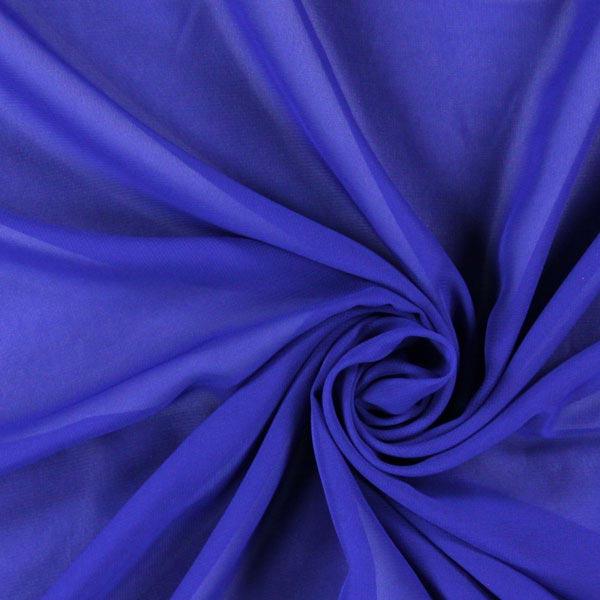 Chiffon – königsblau