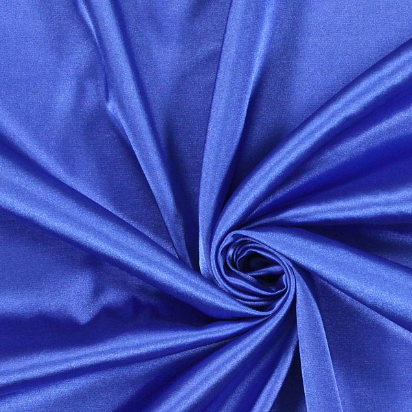 Stretch Satin – bleu roi