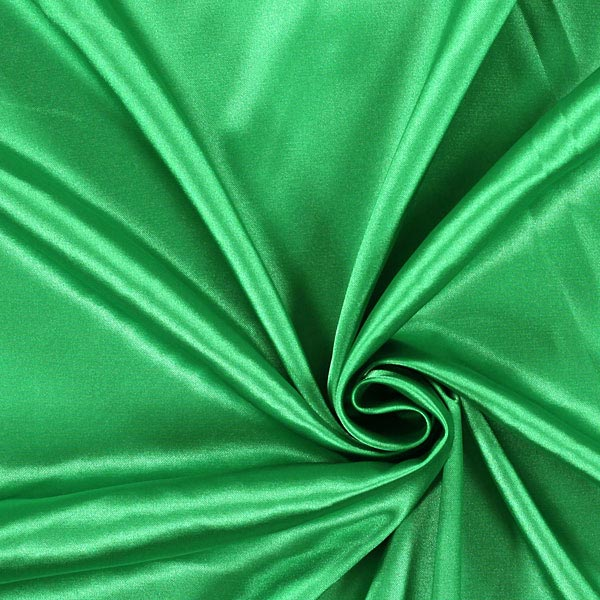 Stretch Satin – vert herbe