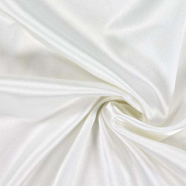 Stretch Satin – weiss
