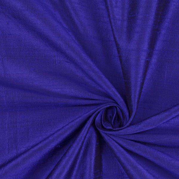 Dupionseide – königsblau