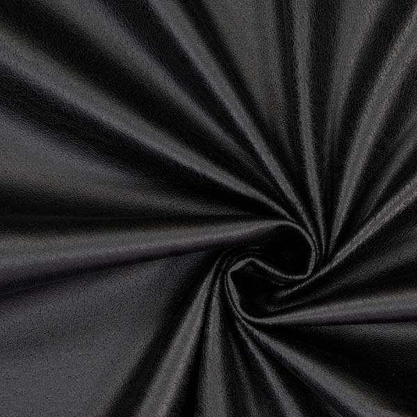 Soft Stretch Kunstleder – schwarz