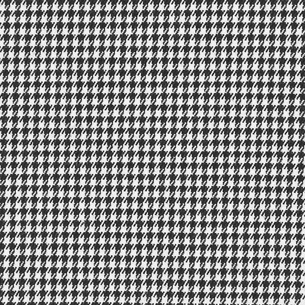 Anzugstoff Stretch Hahnentritt – schwarz/weiss