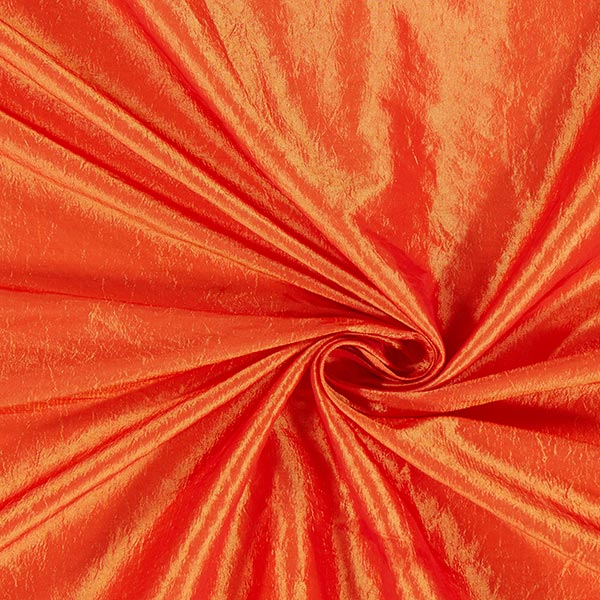 Tissu taffetas Crash – orange