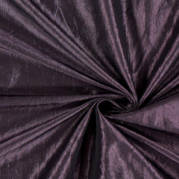 Taftstoff Crash – aubergine