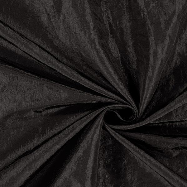 Taftstoff Crash – schwarz