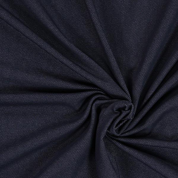 Jersey look denim - bleu marine
