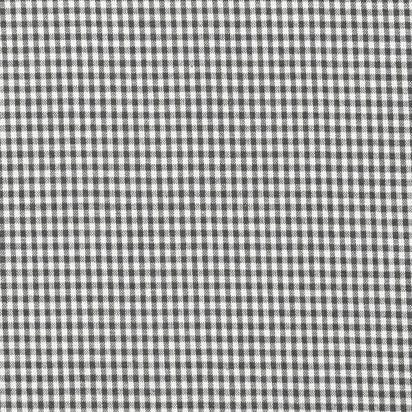 Baumwollstoff Vichy - 0,2 cm – anthrazit