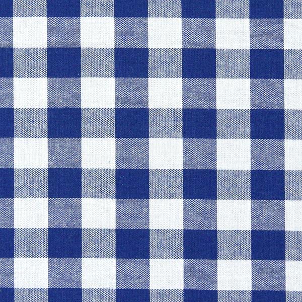 Baumwollstoff Vichy - 1,7 cm – königsblau