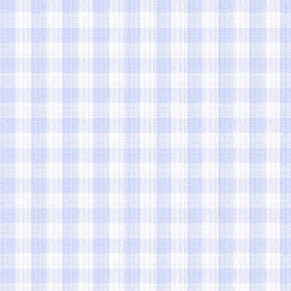 Tissu en coton Vichy - 1 cm – bleu bébé