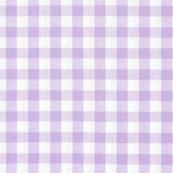 Baumwollstoff Vichy - 1 cm – pastellflieder