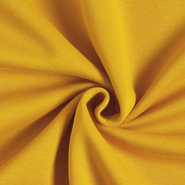 Sweatshirt gratté – moutarde