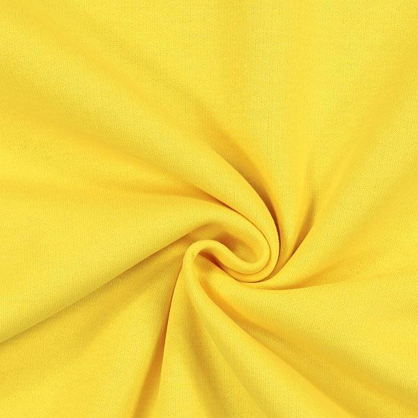Sweatshirt rugueux – jaune