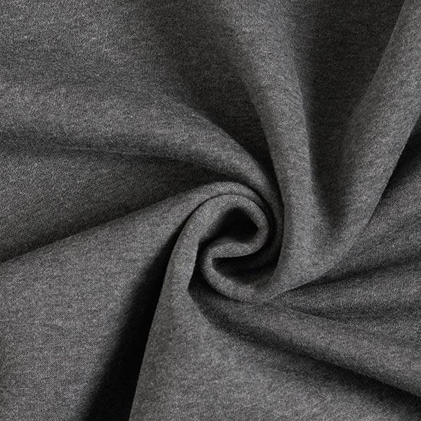 Sweatshirt rugueux – gris foncé