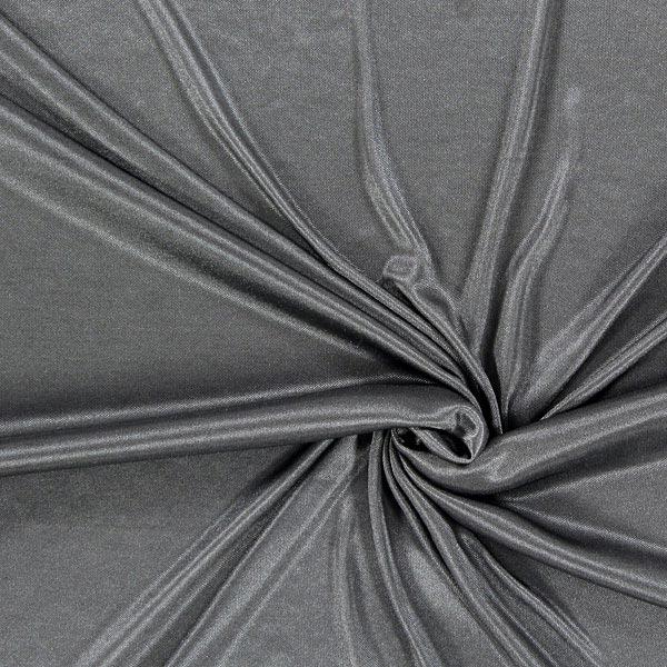 Futterstoff Charmeuse – dunkelgrau