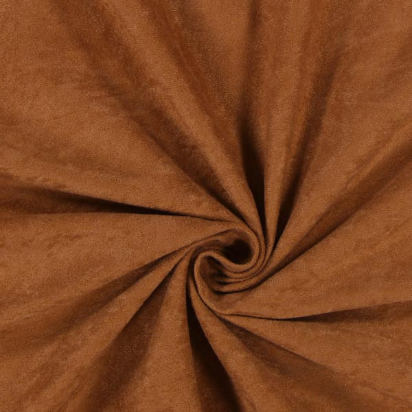 Micro suédine Alova 4 – marron moyen