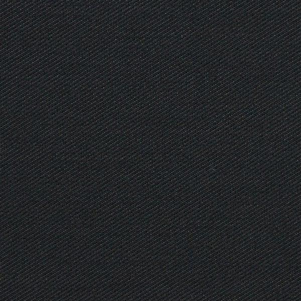 Sergé stretch Uni – noir