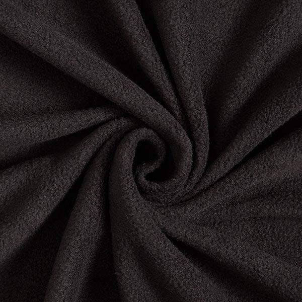 Antipilling Fleece - schwarz