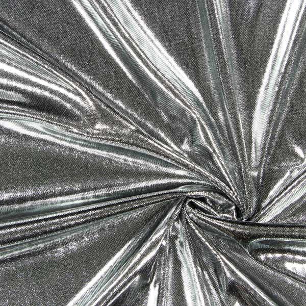 Dekostoff Lamé – silber