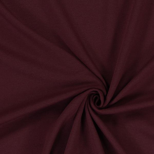 Jersey romanite Classique – rouge bordeaux