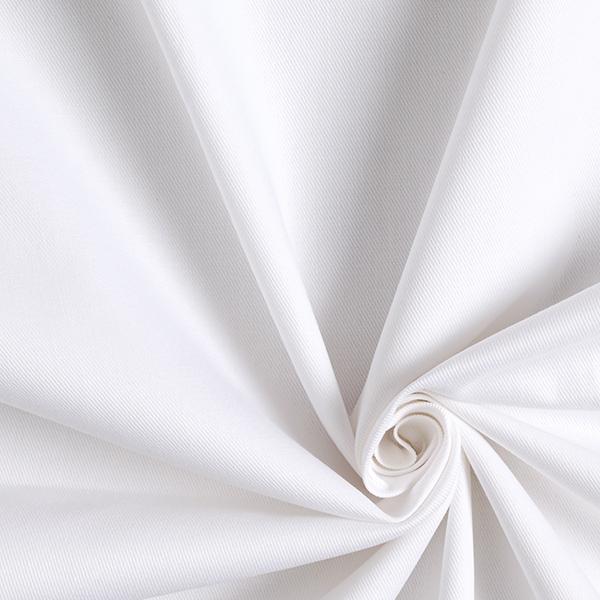 Sergé robuste Uni – blanc