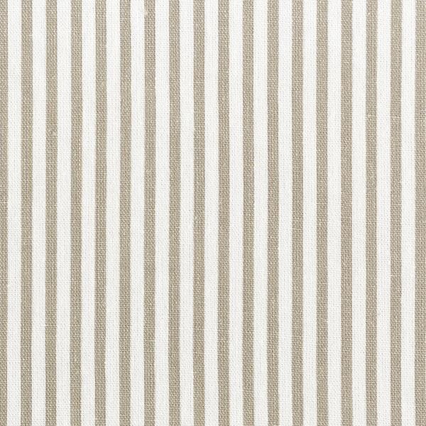 Mélange viscose lin Rayures verticales – sable