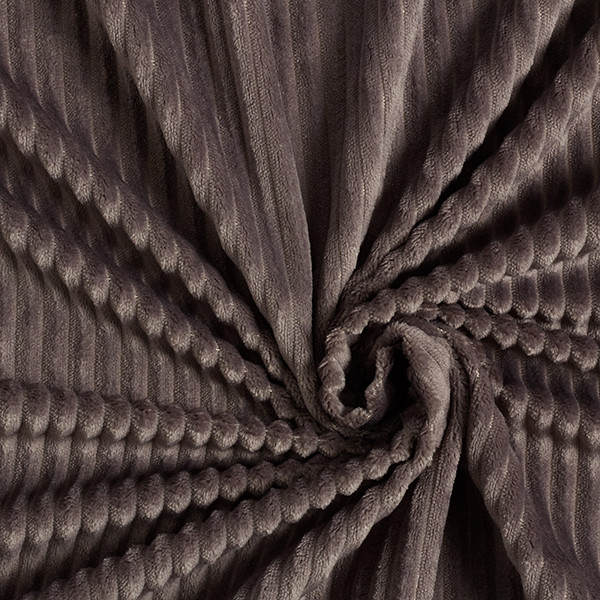Kuschelcord – grau