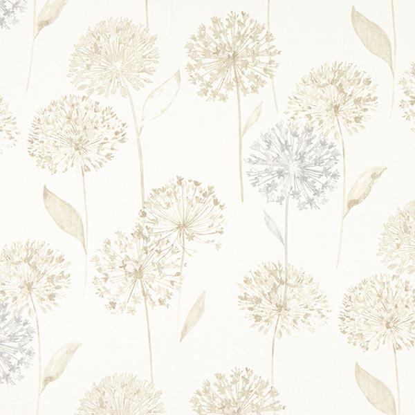 Toile Ramie Allium – wollweiss/beige