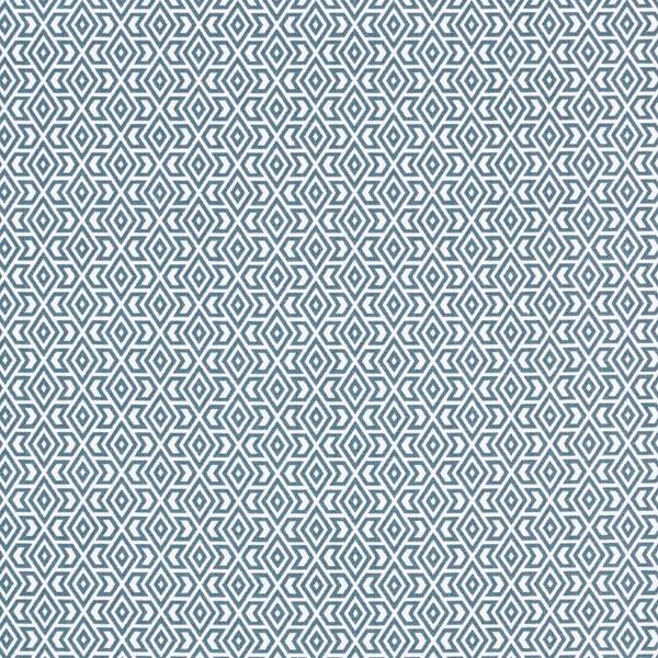 Baumwollstoff Cretonne Grafische Formen – petrol