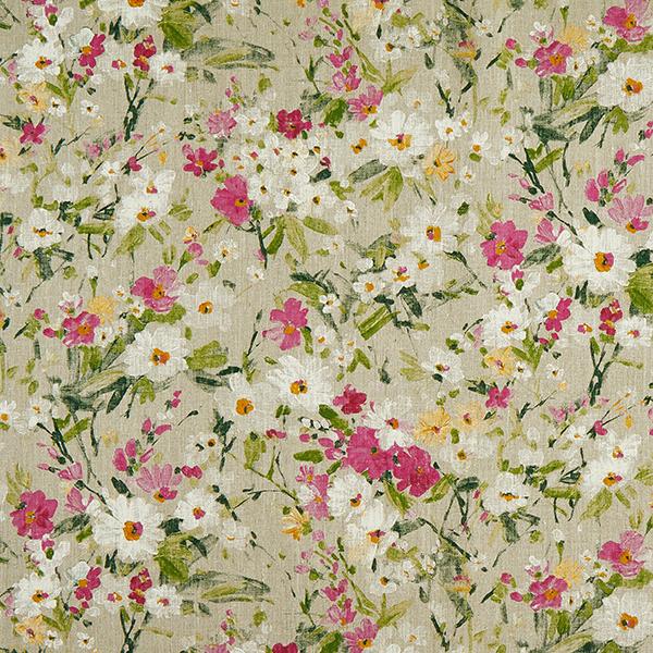 Dekoleinen Blumendruck – rosa