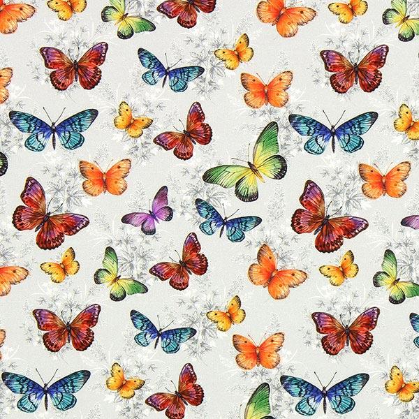 Cretonne Papillons Kiara