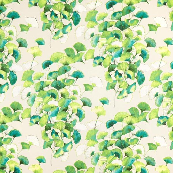 Tissu de décoration d'extérieur Ginkgo – vert