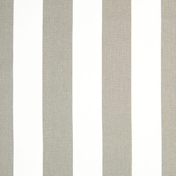 Baumwollköper Streifen – grau/weiß