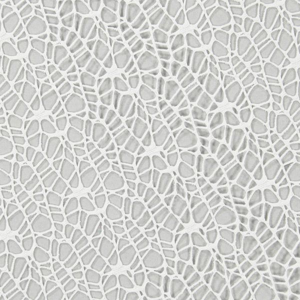 Tissu de décoration Spider – blanc