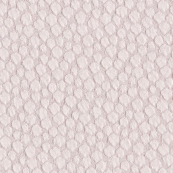 Jacquard Jersey Stoff Seifenblasen – hellgrau