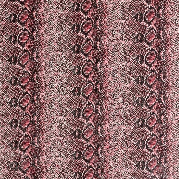 Lederimitat Schlange – pink