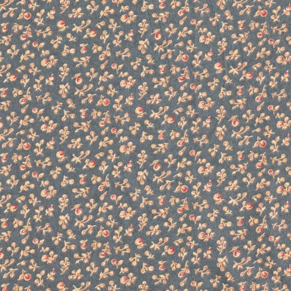 Flanelle coton Mille-fleurs – gris