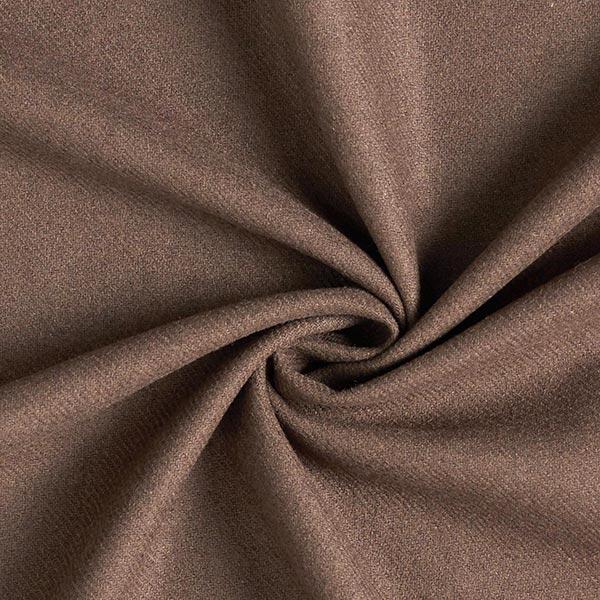 Tissu de manteau mélange laine – marron