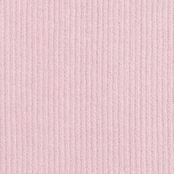 Tissu maille aspect côtelé – rose