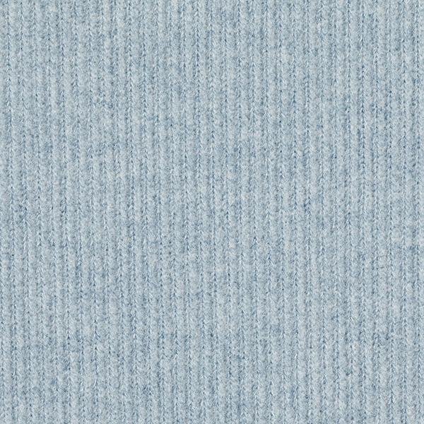 Strickstoff Rippenoptik – hellblau